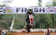 Chessy Meilandri Raja Cilik Penguasa Kelas Mini Moto Di Ajang Grasstrack Surade, Sukabumi
