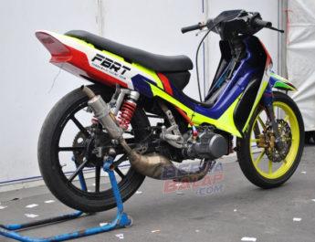 Rahasia Underbone 116 cc FBRT, Jawara Road Race 2019 Kebumen (10 Feb)