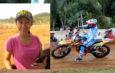 Neng Dolis, Wanita Tercepat Di Kejuaraan Open Millenial Motocross & Grasstrack 2019 Wonogiri