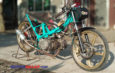 Mochin Ikutan Dragbike, Ini Rahasia Mesin Tossa 130 cc Beastbike Kudus