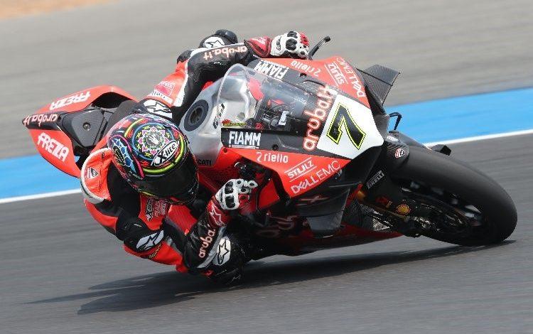 Ingin Terus Hajar Pabrikan Jepang (WSBK 2019), Bautista Tes Ducati V4Rnya di Aragon