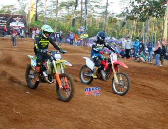 Indiel Grasstrack 2019 Salatiga : Power To Power FFA Pemula, Aris Garayam Libas Kiki Cahya !