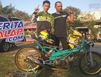 Rahasia Jupiter Z Tim Putra Pandaya FT HCRS, Sasis Lokal, Runner-up LSI Dragbike Semarang !