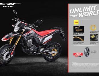 Mau Modifikasi Honda CRF150L ? Pastikan Produk SSS, Ini Referensi AHM !