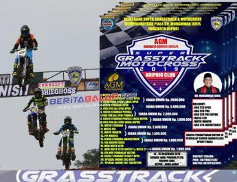 "Kejuaraan AGM Super Grasstrack Tropi Mohammad Idris Wali Kota Depok 2019 : Ada 8 Juara Umum Dan Tantangan Baru ""Holeshot"" Untuk 6 Kelas"
