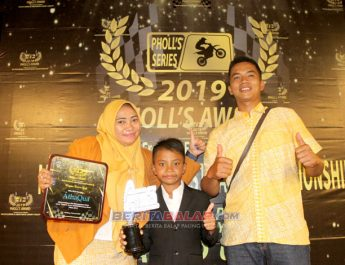 Andika Pratama Makin Bersemangat Ukir Prestasi Setelah Mendapatkan Penghargaan Phol's Series 2019 Award