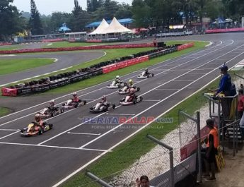Hasil Lomba Asian Karting Open Championship Series 2020 Sentul