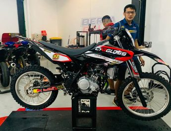 Wow ! Rey Speed Shop (RSS) Bore-up Mesin Yamaha WR 155R Jadi 200 cc, Biaya ?