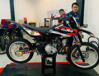 Wow ! Rey Speed Shop (RSS) Bore-up Mesin Yamaha WR 155R Jadi 200 cc, Biaya ?