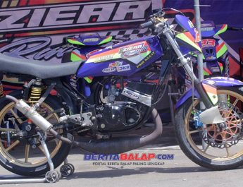 Ini Spek RX King by Ziear Racing Team, Tunernya Bima Aditya, Podium Road Race Semarang