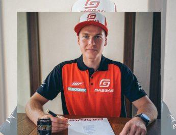 Pauls Jonass Dan Brian Bogers Amunisi Baru GASGAS Factory Racing Musim MXGP 2021