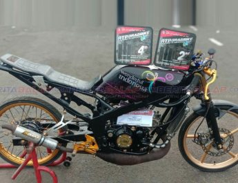 Ninja Wonderful Indonesia Podium RTP Dragbike 201M (15 Nov), Ini Spek Mesinnya By Eco Speed Cikarang