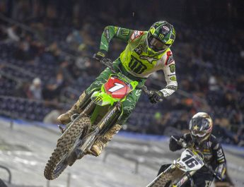 Pembuktian Kawasaki Di Putaran 2 Supercross 2021 Houston