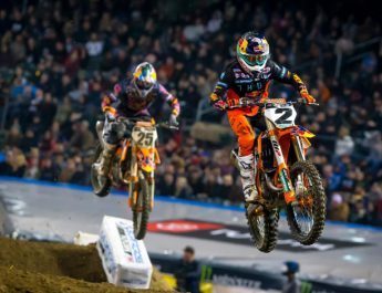 Dominasi Duo KTM Di Supercross 2021 Putaran 8 Orlando