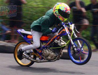 Satria Fu by PRMD Racing Shop LPT Jepara, Jawara FU Wungkul di Latber IMI Jateng SportEve