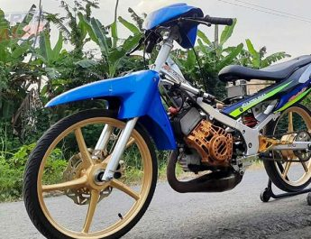 Satria Hiu Langganan Jawara Bracket Time 8,5 Detik, Korek Harian By Babahe Racing Semarang