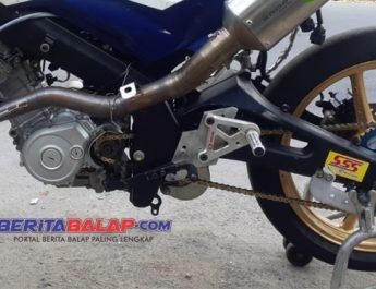 Mekanik Bima Aditya Sebut Mesin Bore-up WR155R Pakai Knalpot Proliner XR-1 Naik 1,5 HP.