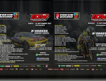 Pasca Tertunda, Final Indonesia Drag Wars (IDW) Jogja Fix Digelar 18-19 September Ini